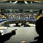 Maroš Šefčovič answering questions of MEPs: a view from regia