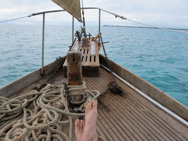 Belize Barrier Reef - Foot Shot