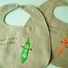 veggie bibs by pinklemonadeboutique