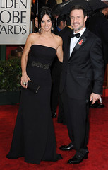 2010 Golden Globes - Courtney Cox and David Arquette