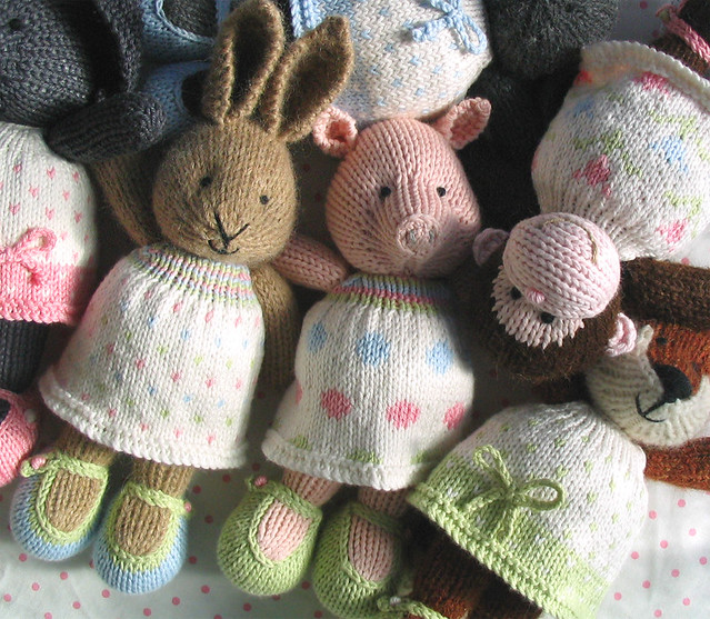 Knitting Patterns To Make Animals : toys - a gallery on Flickr
