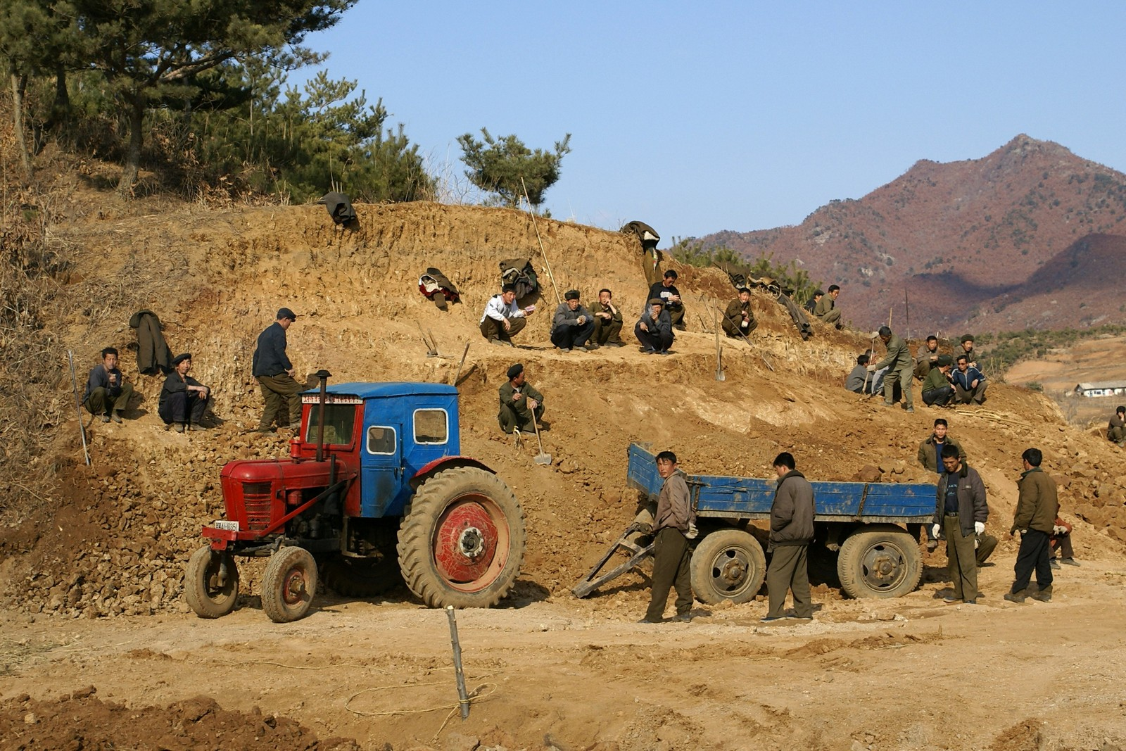 Road construction in Unjon County (1)