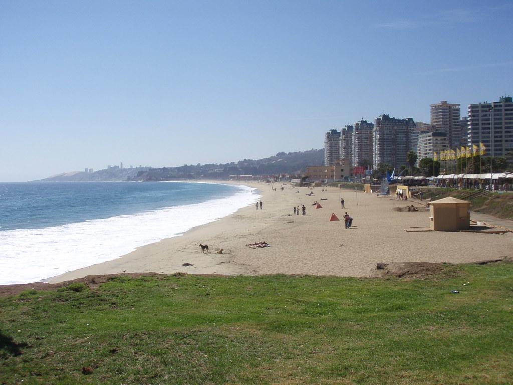 Винья-дель-Мар пляж