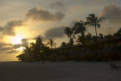 Our First Sunset in Aruba