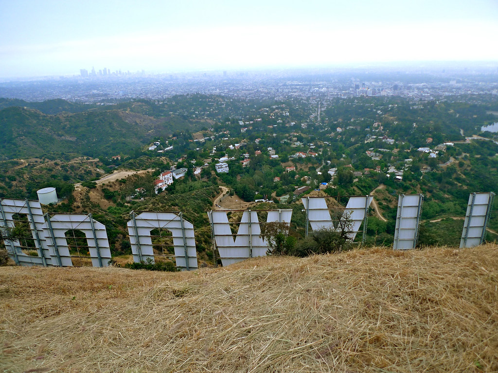 On The Disappearing Reappearing Hollywood Sign