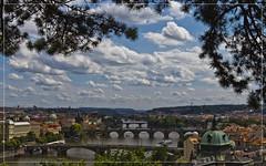 View on Prague's bridges