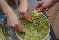 dip, food, dish, guacamole, cuisine,