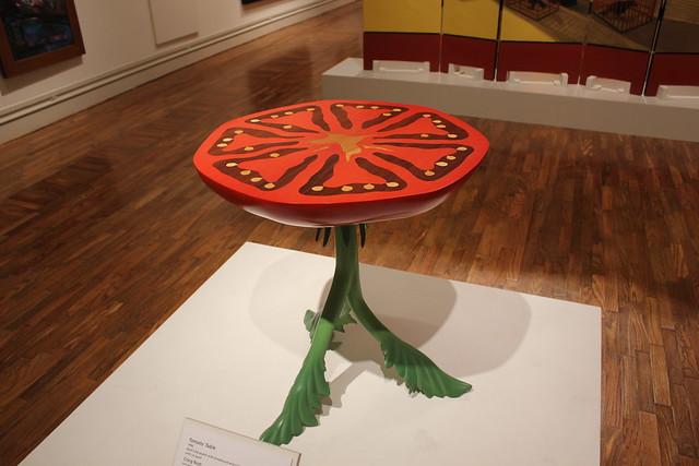 Tomato Table by Craig Nutt, Columbus Museum, Columbus GA