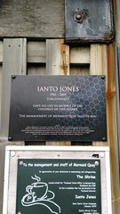 Photo of Ianto Jones blue plaque
