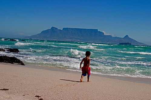 Table Mountain from Blouberg, South Africa