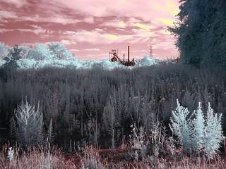Carrie Furnace : digital infrared by John Fobes