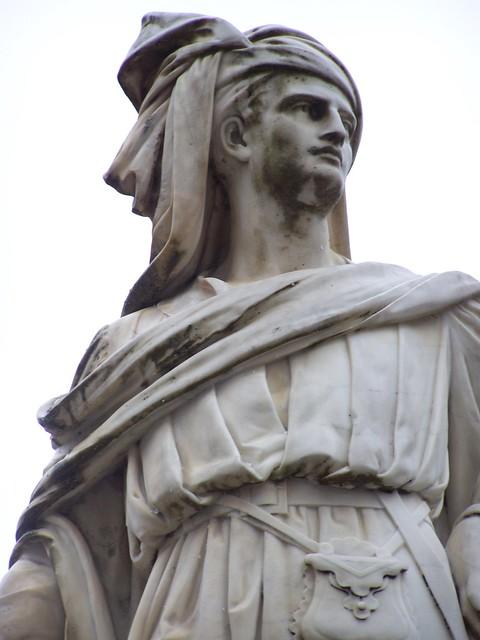 Statue de Jacques Coeur, Bourges (détail)