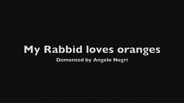 A hungry Rabbid