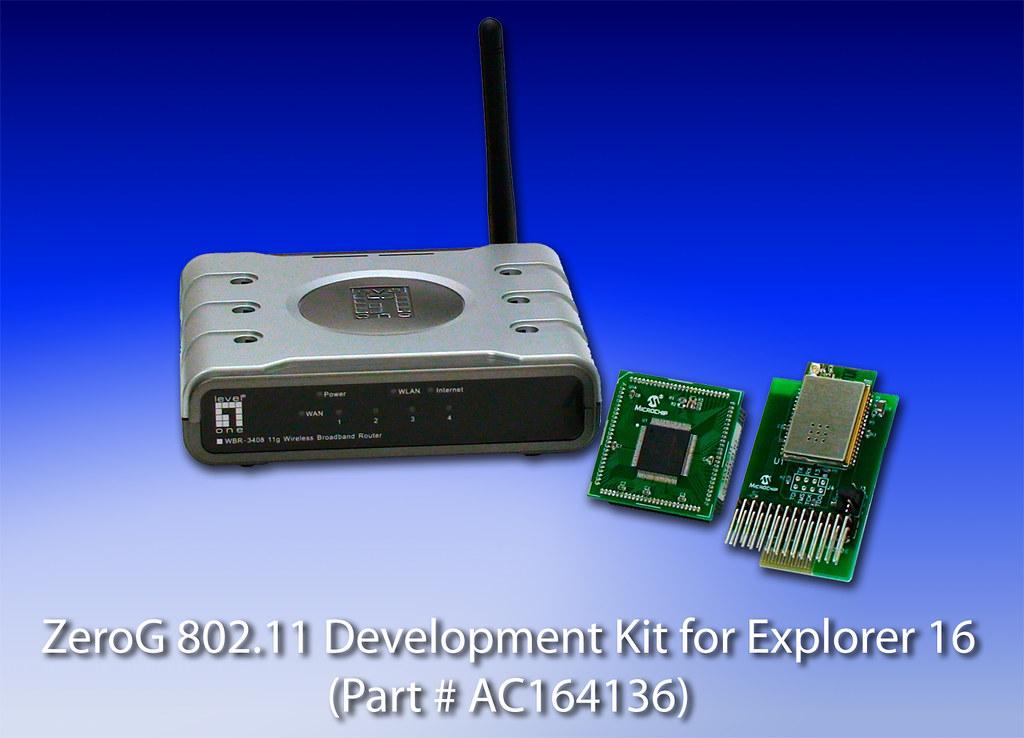 ZeroG IEEE 802 11 Development Kit for Explorer 16   The Zero