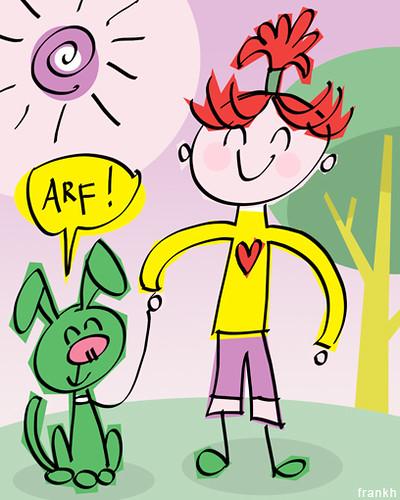 arf! by frank h.