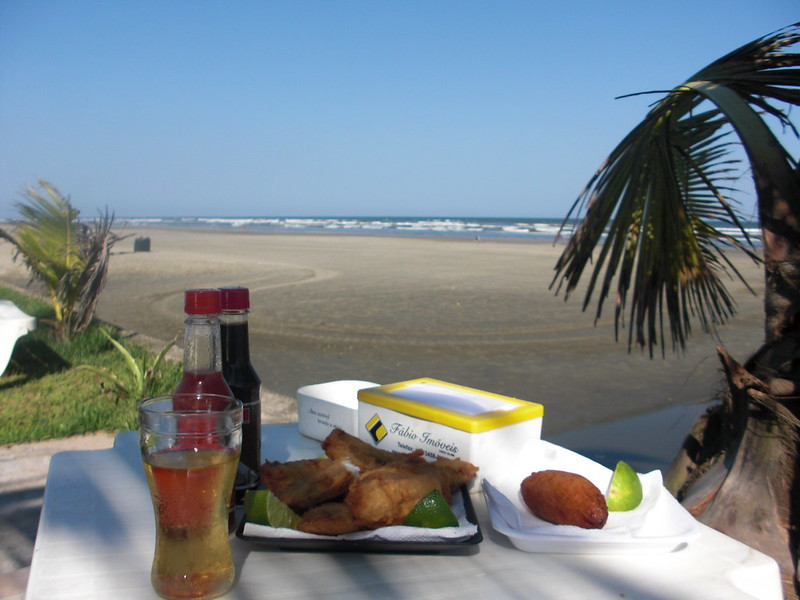 A meal at the beach