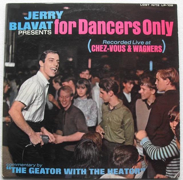1960s Jerry Blavat Presents For Dancers Only Vinyl Lp Reco