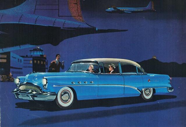 1954 buick roadmaster 4 door sedan flickr photo sharing for 1954 buick 4 door