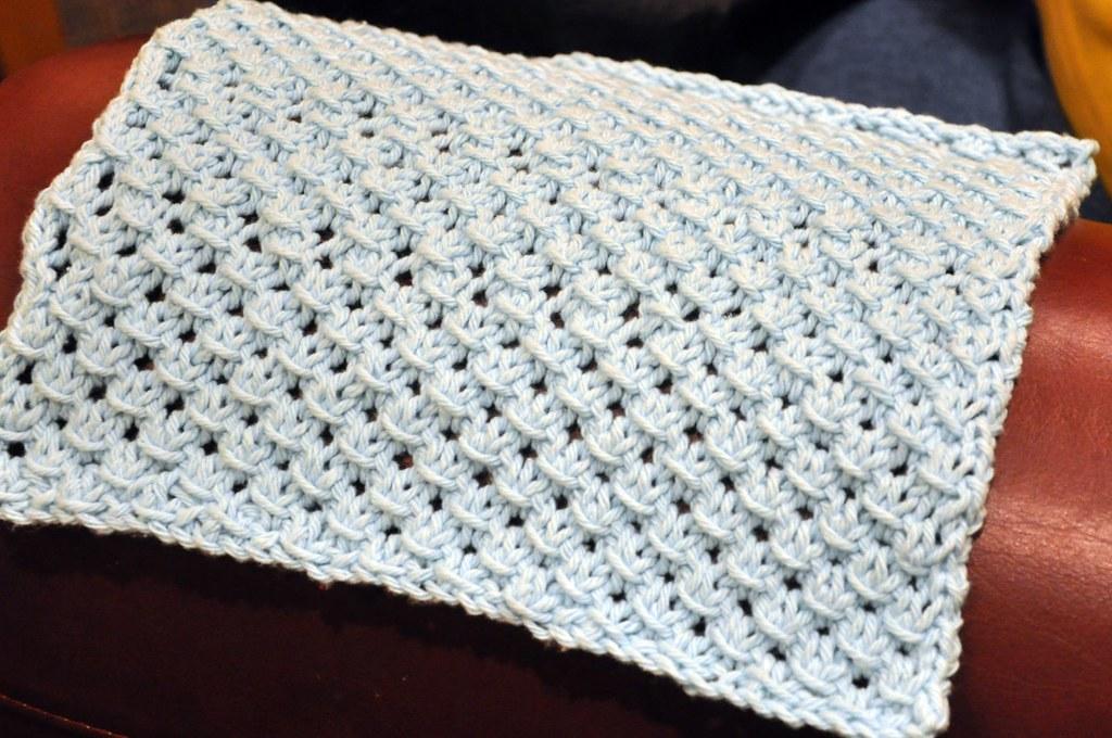 Crochet Star Dishcloth Pattern Free Crocheted Star Facecloth