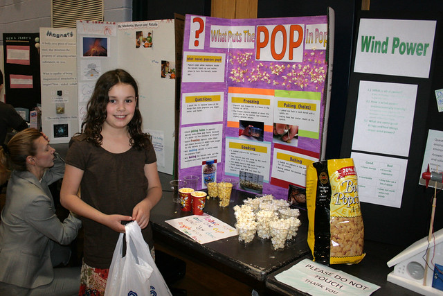 Science Fair Projects with Pop http://www.flickr.com/photos/wwworks/4469081056/