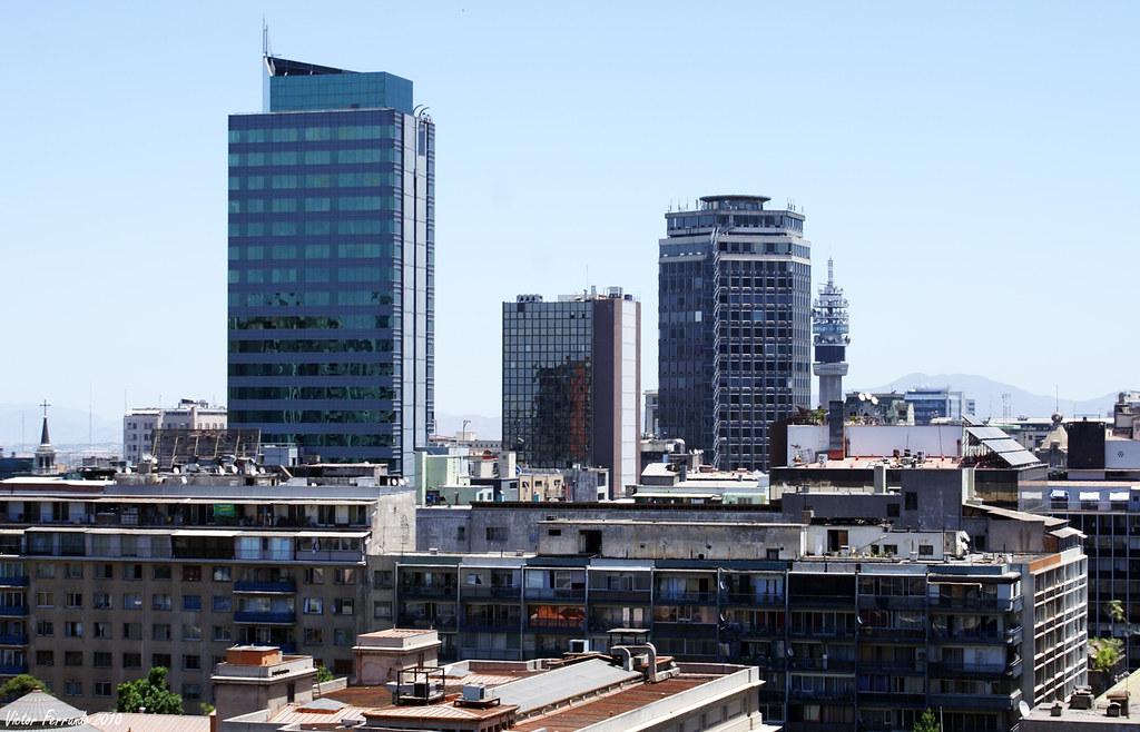 Vistas desde el Cerro Santa Lucia - Santiago de Chile