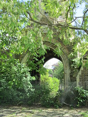 More of Abandoned church arch