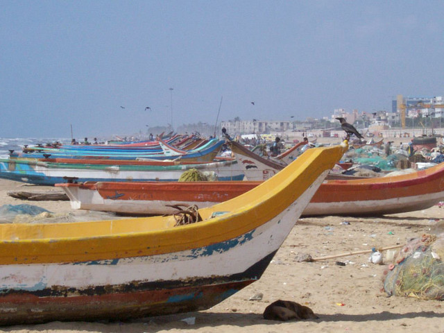 Chennai, India Harbor - Flickr CC NOAA