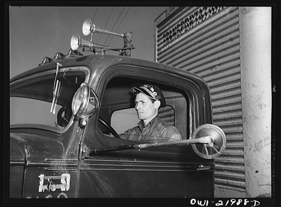 Flashing Truck Driver Pics http://www.flickr.com/photos/oldtrucks/5862484390/