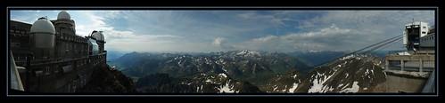 panorama mountain france montagne panoramic 100views 400views 300views 200views neige 500views 600views pyrénées panoramique coupole sommet lamongie astronomie hugin téléphérique midipyrénées picdumidi névé barèges obseratoire
