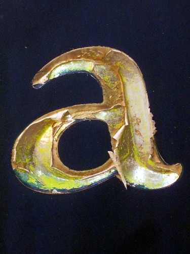 Lower-case Letter a (Bethesda, MD)