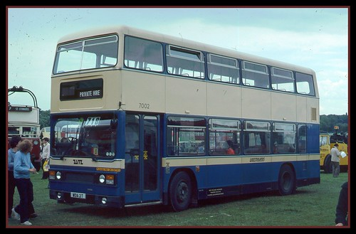 West Midlands Titan at Showbus Rally 1979