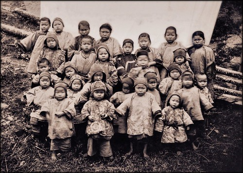 Kidnapped Girls, Foochow, China [1904] Attribution Unk