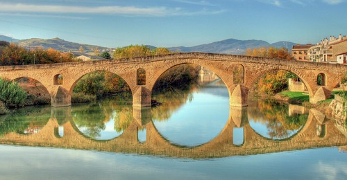 Puente la Reina. Camino de Santiago