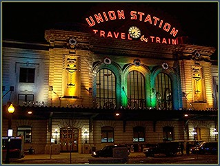 Изображение на Union Station Train Hall. california railroad travel color colour station train geotagged photo colorado december union rail railway denver amtrak photograph jpg orkut jpeg 2009 californiazephyr flickrivercom flickrhivemind taggalaxy