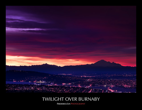 Twilight Over Burnaby
