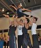 Daiane dos Santos e os bailarinos da Pulsarte