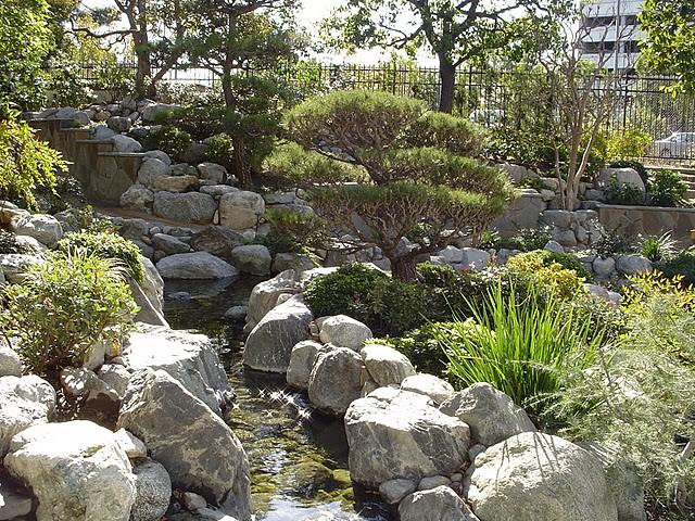James Irvine Japanese Garden In Little Tokyo Flickr Photo Sharing