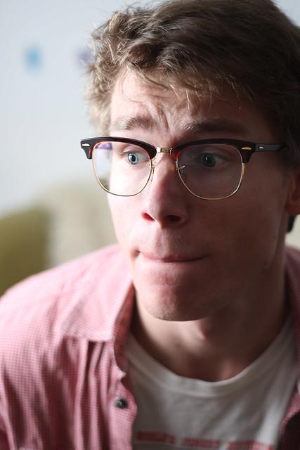 Clubmaster Ray Ban Eyeglasses