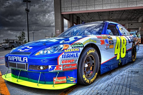 Jimmie Johnson Lowes Racing #48 Car