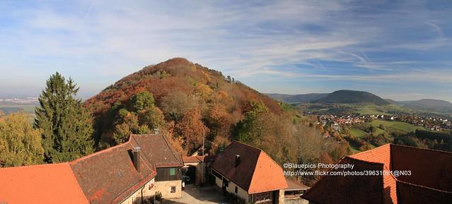 Hohenrechberg, Rechberg castle ruin
