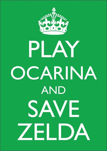 Play Ocarina and Save Zelda by markltb