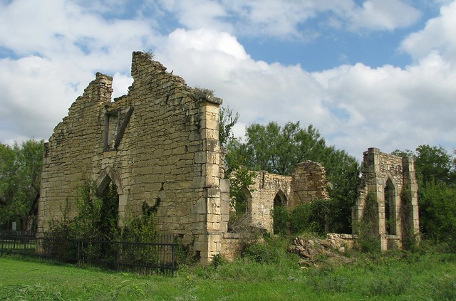 Ruins Of St Dominic S Church In Old D Hanis Texas Pictu