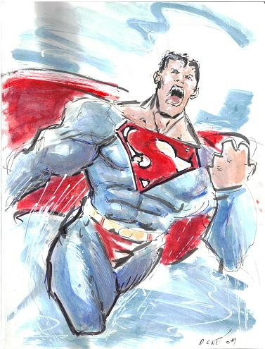 Superman by Dezi Sienty (King Con 2009)