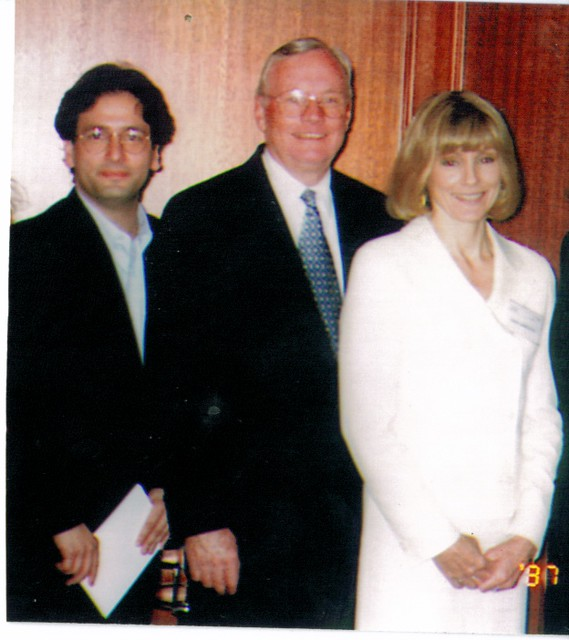 With Neil Armstrong & wife Carol 1995 | Flickr - Photo ...