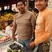 Proud of their Chirimoya - Otavalo Market, Ecuador