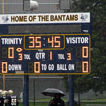 Trinity College Football Scorebard