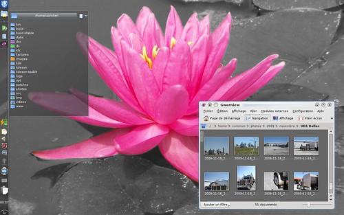 Wide-screen friendly Plasma desktop