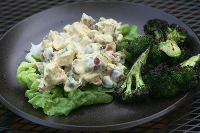 Curry Chicken Salad Lettuce Wraps | Flickr - Photo Sharing!