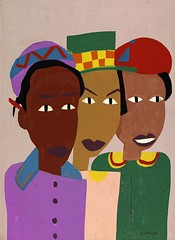 Three Friends Portrait