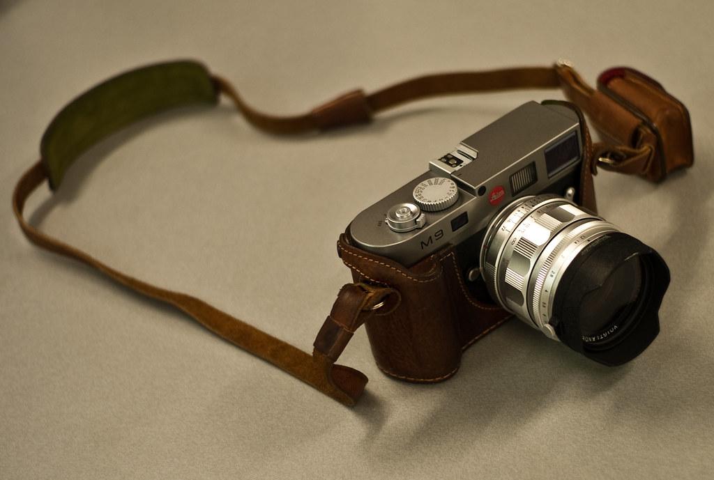 Die erste M mit Vollformatsensor: Leica M9